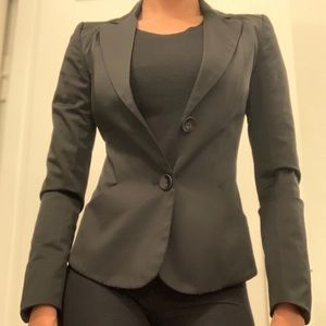 MNG by Mango | black blazer